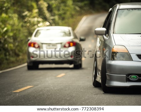 car on the road #772308394