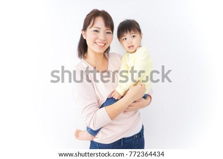 Mother having baby #772364434