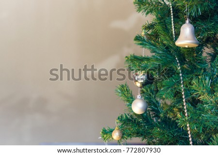 A Decorated Christmas tree #772807930