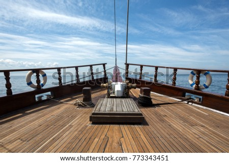 Wooden Boat with Teak Deck #773343451