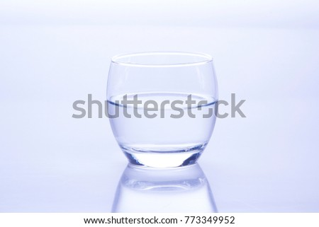 Glass Is On The Isolated Background  #773349952