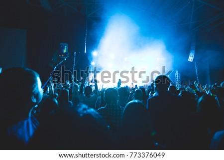 big musical concert  #773376049