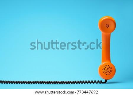 Telephone communication concept. #773447692
