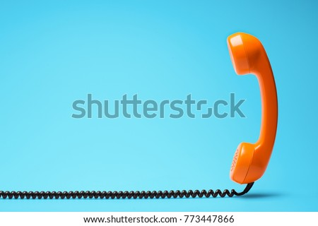Telephone communication concept. Royalty-Free Stock Photo #773447866