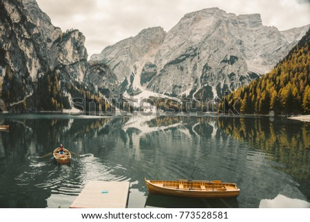 Lago di Braies - a magical to breathtaking lake. Autumn, winter, spring, summer? It does not matter at what time you are visiting