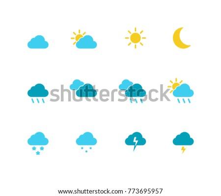 Weather Icon Set #773695957