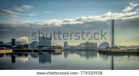 Mother Glasgow Cityscape #774320938