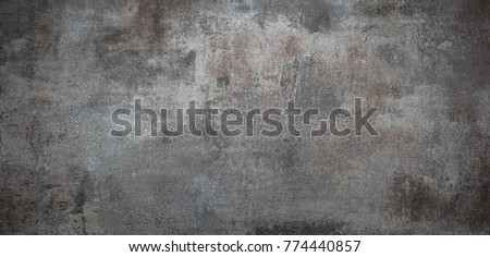 Grunge metal background or texture with scratches and cracks #774440857