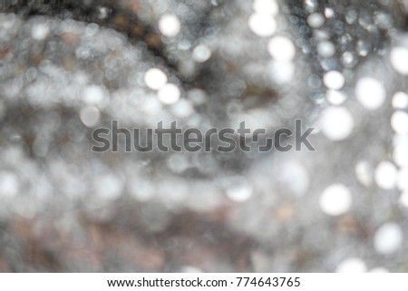 Blurred background with circles silhouettes. For your web site. Fog in bokeh. Defocused background. #774643765
