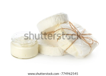 mix cheese isolated on white #774962545