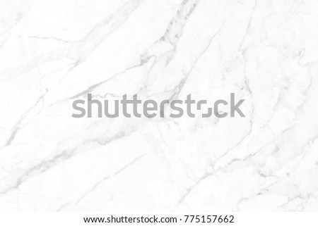 White marble texture in natural pattern with high resolution for background and design art work. White stone floor. #775157662