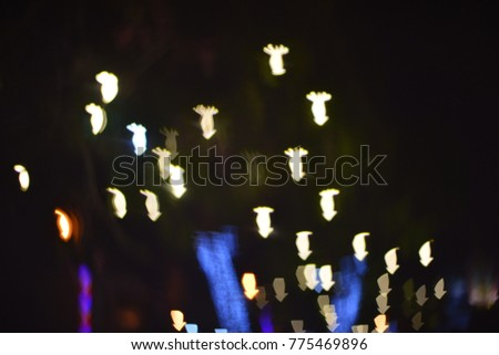 Bokeh at night #775469896