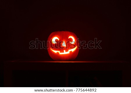 Pumpkin halloween background #775644892