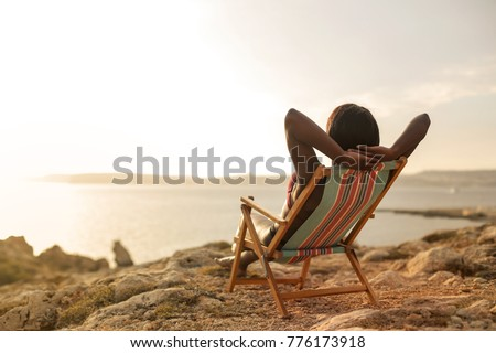 Relax at the beach #776173918