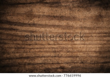 Old grunge dark textured wooden background,The surface of the old brown wood texture #776659996