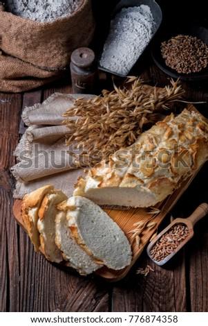 a tasty Tiger bread #776874358