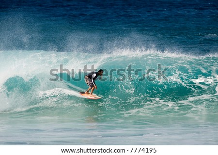 professional surfer (for editorial use only) #7774195