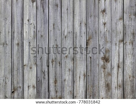 Old and rough wooden boards from an exterior building #778031842