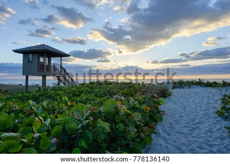 Sunset at Delray Beach #778136140