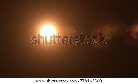 Lens flare , Abstract overlays background. #778163500