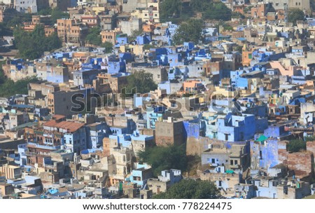 Jodhpur cityscape India #778224475