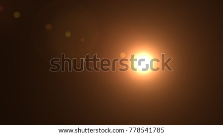 Lens flare , Abstract overlays background. #778541785