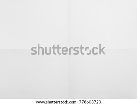 white sheet of paper folded #778603723