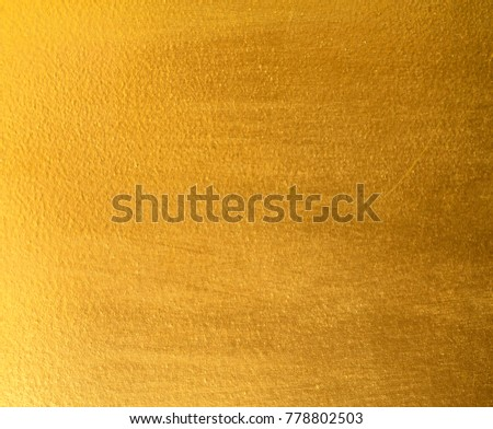 gold foil texture background Shiny yellow leaf #778802503