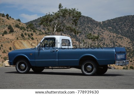 Virginia City, Nevada, USA on August 13, 2017 : Old Chevrolet Pick Up. #778939630