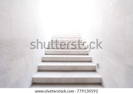 Stairway to the light Royalty-Free Stock Photo #779130592