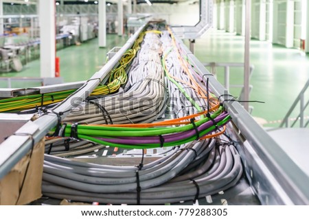 Cable tray epoxy dark grey : Houses runs of control and power cable used for cable and wire junction distribution and termination. #779288305