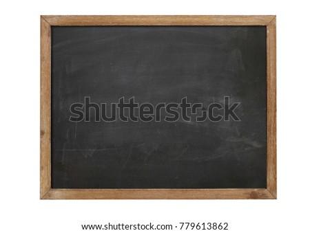 School blackboard blank #779613862