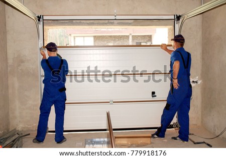 Contractors Installing, Repair, Insulating Garage Door. Garage door seal, garage door replacement, garage door repair. #779918176