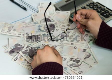 Turkish Money ( Turkish Turk Lirasi ) #780334021