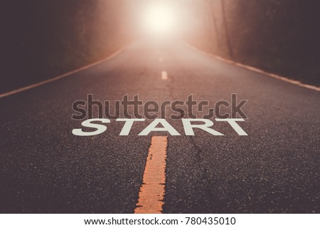 Start Your Life Royalty-Free Stock Photo #780435010