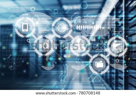 Internet provider concept #780708148