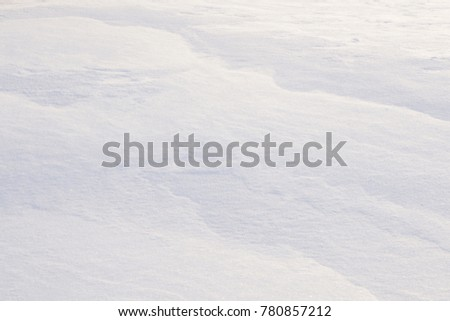 high angle view of snow texture . #780857212