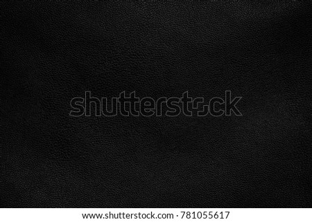 Black leather texture background, Leather. #781055617