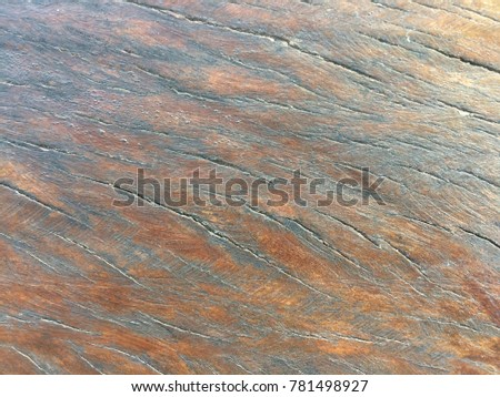 Old natural wood background for texture abstract #781498927