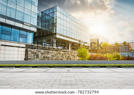 Large modern office building #782732794