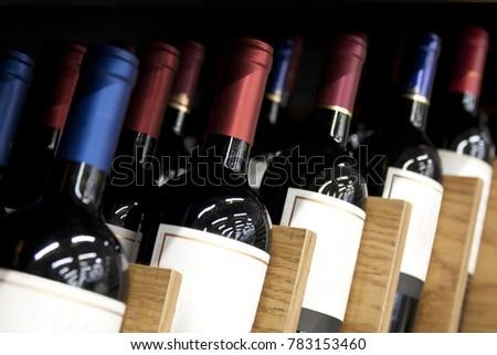 Wine on display #783153460
