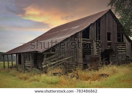 Old Gray Barn #783486862