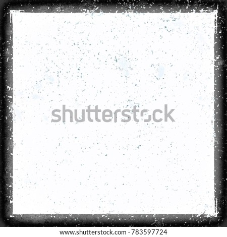 White grunge background with a black border #783597724