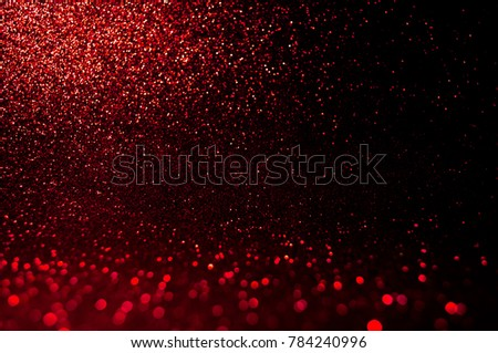 Soft image abstract bokeh dark red with light background. Red ,maroon,black color night light  elegance, smooth backdrop or artwork design for new year,Christmas sparkling glittering Valentines day