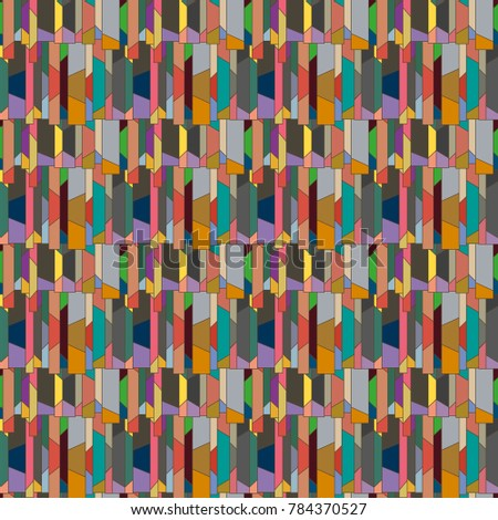 Abstract color seamless pattern for new background. #784370527