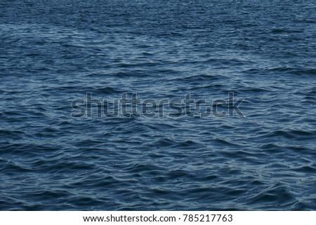 Ripples on sea surface #785217763