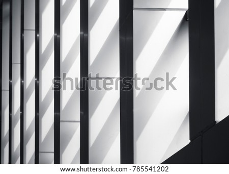 Architecture details Columns with lighting Shade shadow Abstract background #785541202
