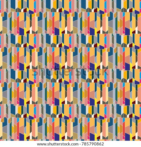 Abstract color seamless pattern for new background. #785790862