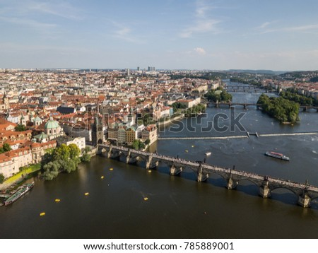Prague, Czech Republic, June 2017: Areal Prague shot #785889001