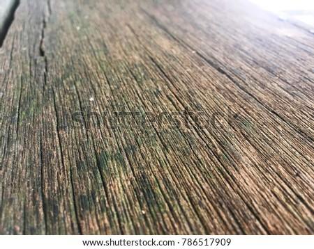 Old wooden floor. #786517909